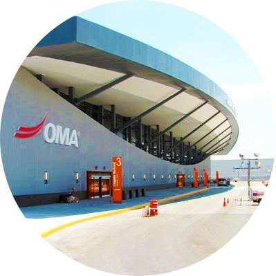 Viaker casos de éxito: Aeropuerto Internacional General Mariano Escobedo, Monterrey Nuevo León